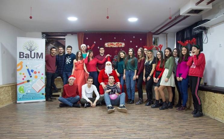 Djeda Mraz u Centru za mlade BaUM