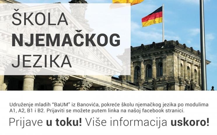 """Škola njemačkog jezika u Centru za mlade """"BaUM"""""""