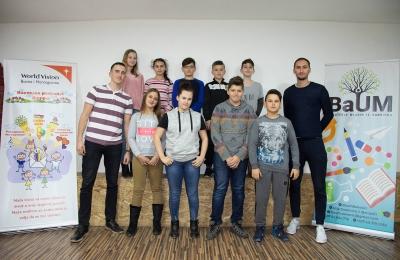 """Radionice """"Životne vještine"""" uspješno završene u Centru za mlade BaUM"""