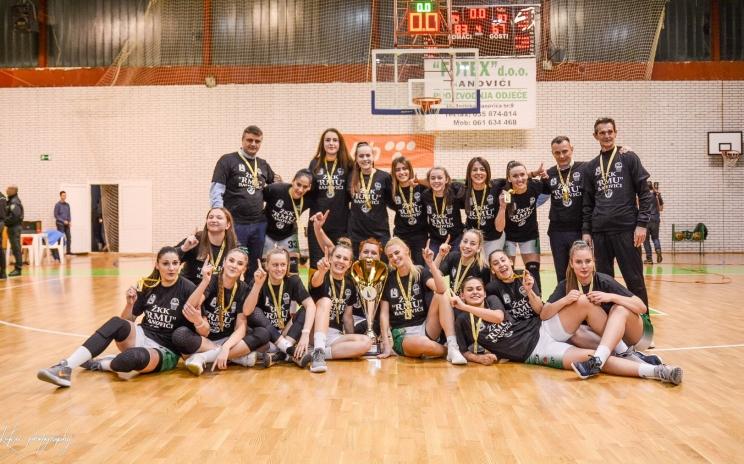 Banovićanke odbranile titulu prvaka Kupa BiH